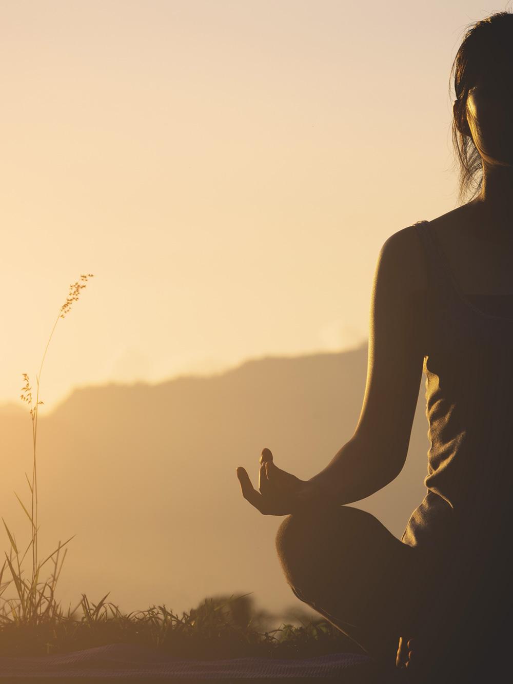 Yoga-Flow der Freude