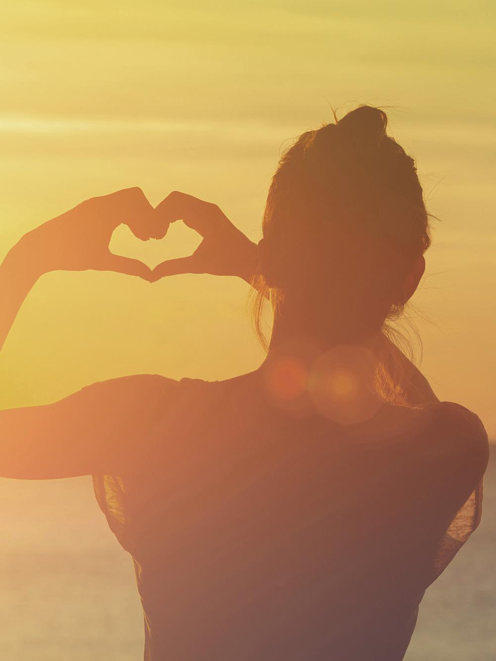 Kommuniziere mit deinem Herzen